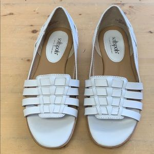 Softspots white shoe